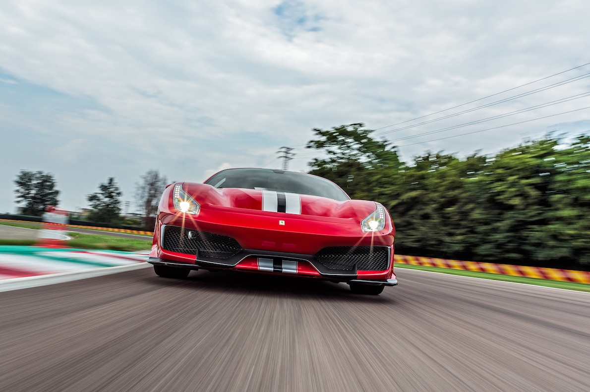 2019 Ferrari 488 Pista Front Wallpapers (4)