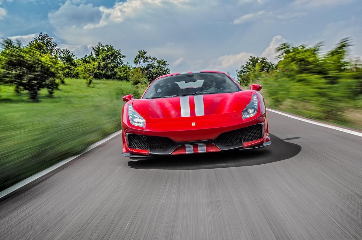 2019 Ferrari 488 Pista Front Wallpapers (3)