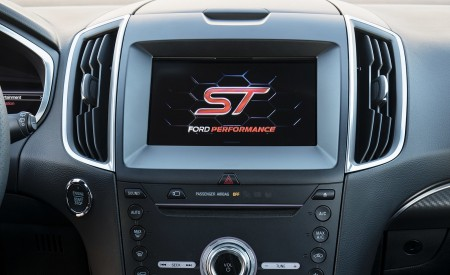 2019 Ford Edge ST Central Console Wallpaper 450x275 (61)