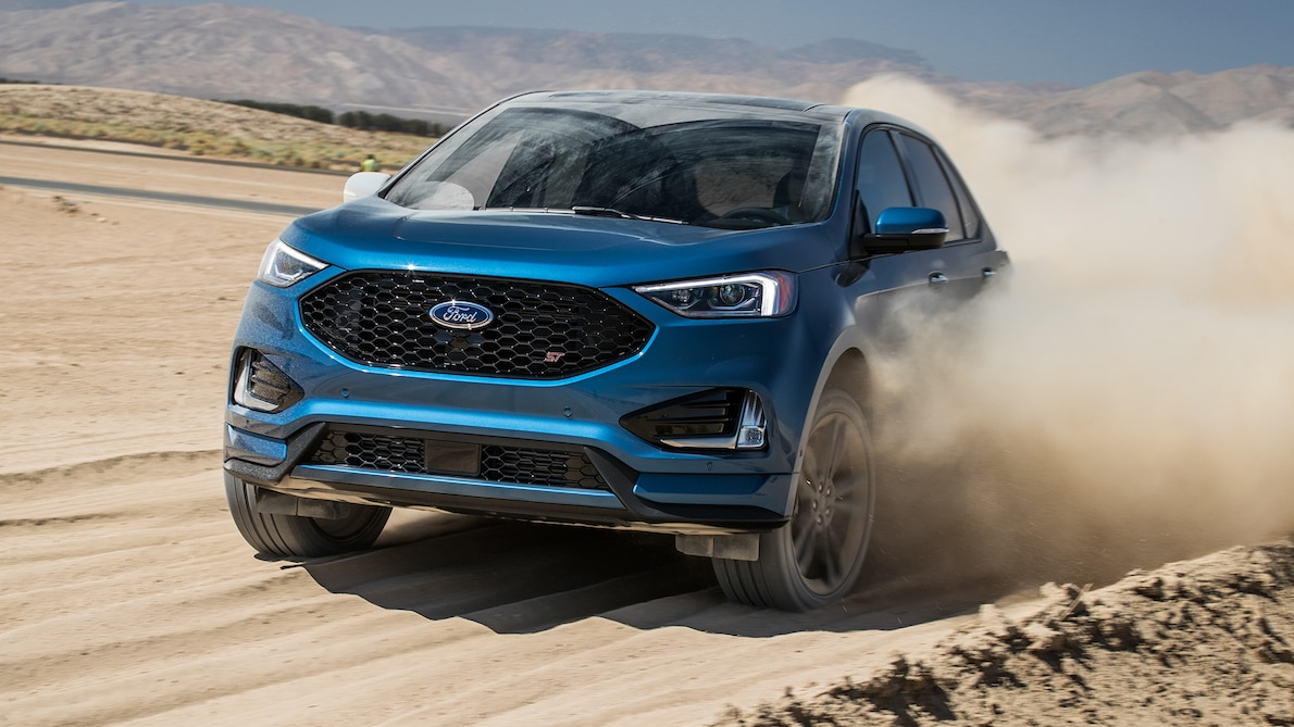 2019 Ford Edge ST Front Three-Quarter Wallpapers (12)