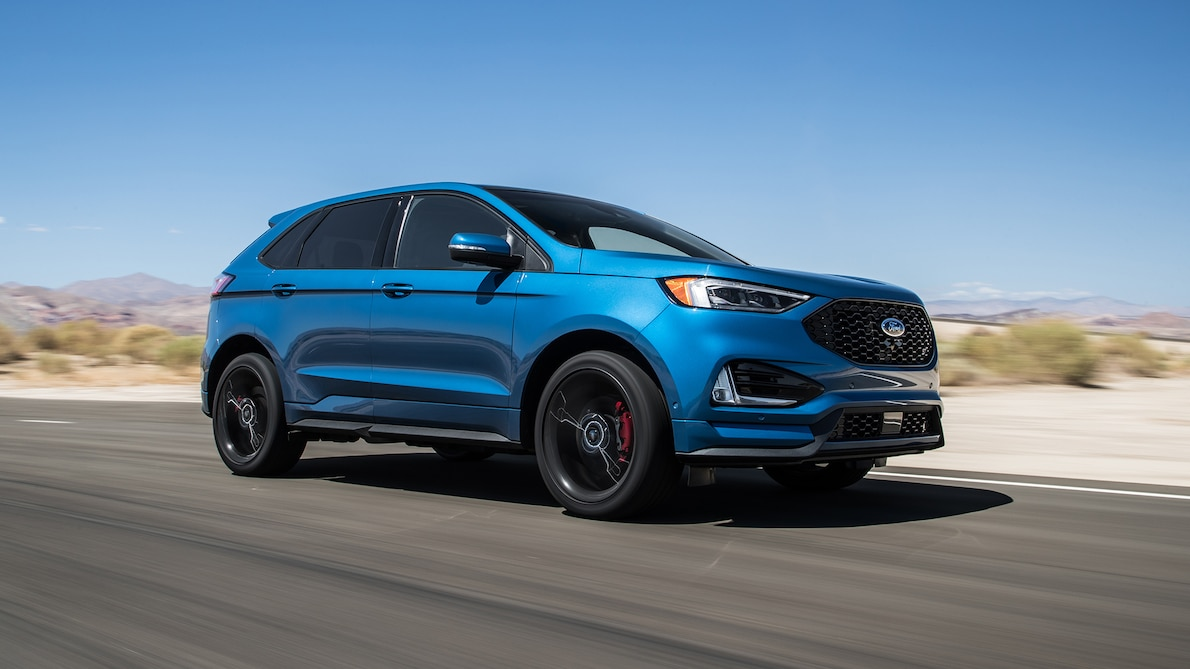 2019 Ford Edge ST Front Three-Quarter Wallpapers (1)