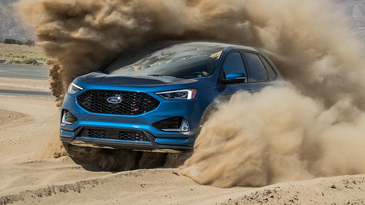 2019 Ford Edge ST Front Three-Quarter Wallpapers (13)