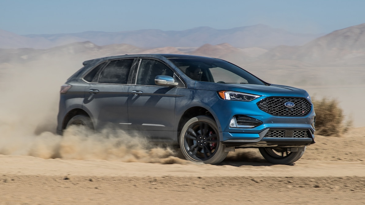 2019 Ford Edge ST Front Three-Quarter Wallpapers (15)