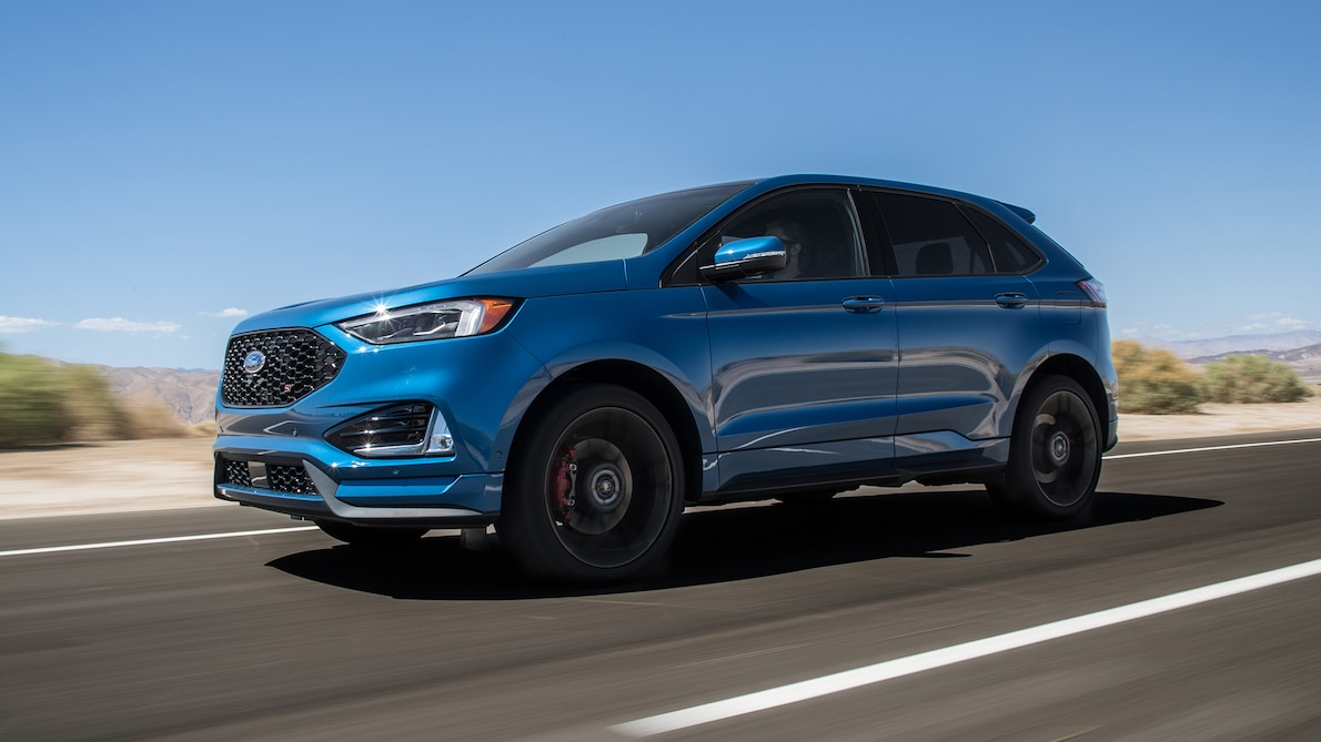 2019 Ford Edge ST Front Three-Quarter Wallpapers (3)