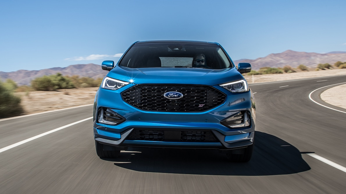 2019 Ford Edge ST Front Wallpapers (2)