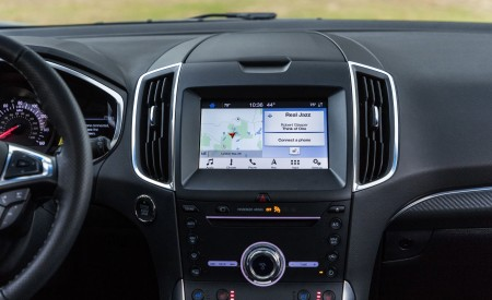 2019 Ford Edge ST Interior Detail Wallpaper 450x275 (34)