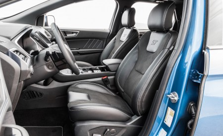 2019 Ford Edge ST Interior Front Seats Wallpaper 450x275 (28)