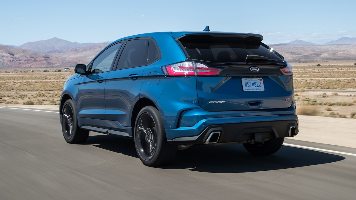 2019 Ford Edge ST Rear Three-Quarter Wallpapers (10)