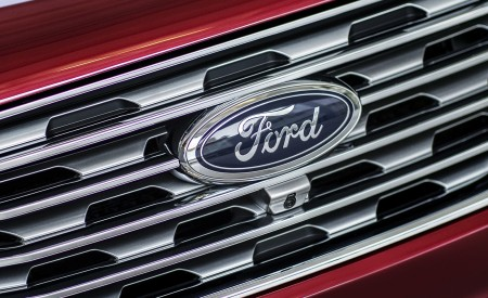 2019 Ford Edge Titanium Grill Wallpaper 450x275 (49)