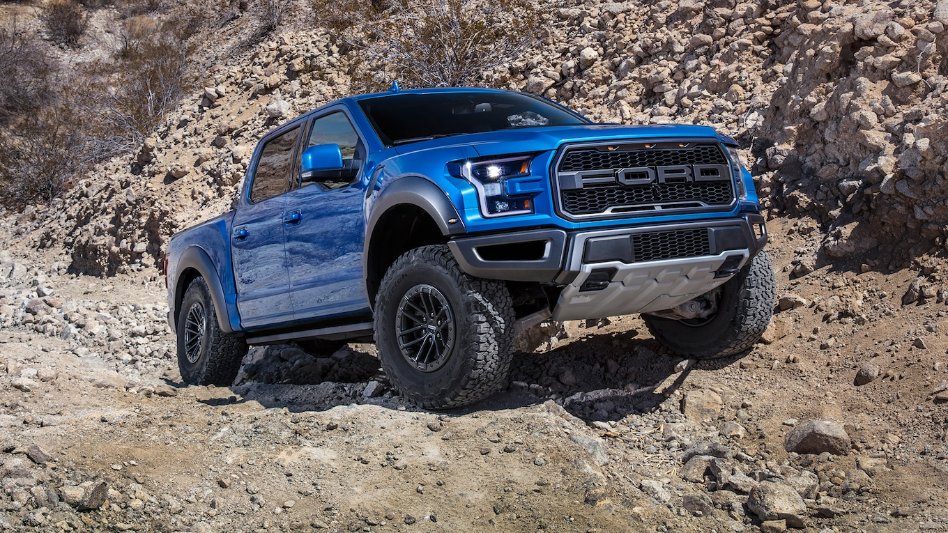2019 Ford F‑150 Raptor Front Three-Quarter Wallpapers (14)