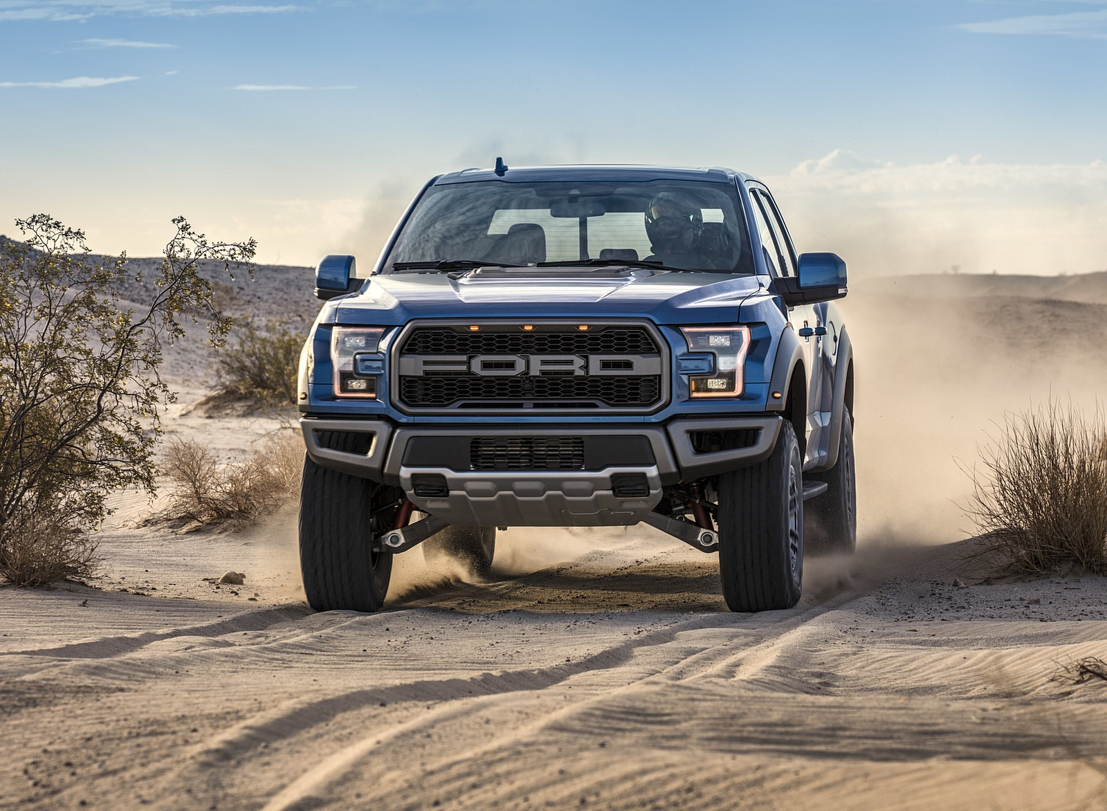 2019 Ford F-150 Raptor Front Wallpapers (4)