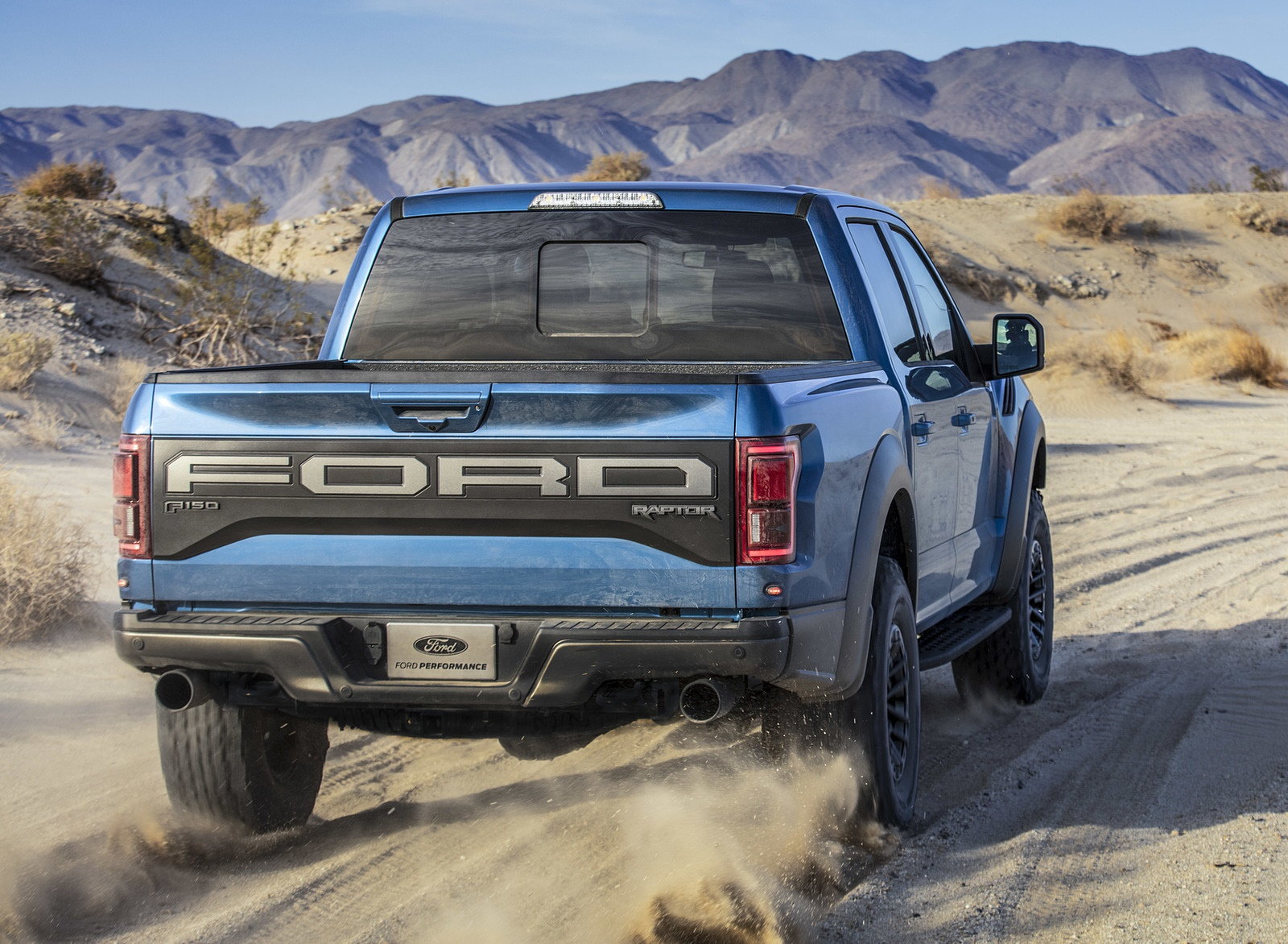 2019 Ford F-150 Raptor Rear Wallpapers (9)