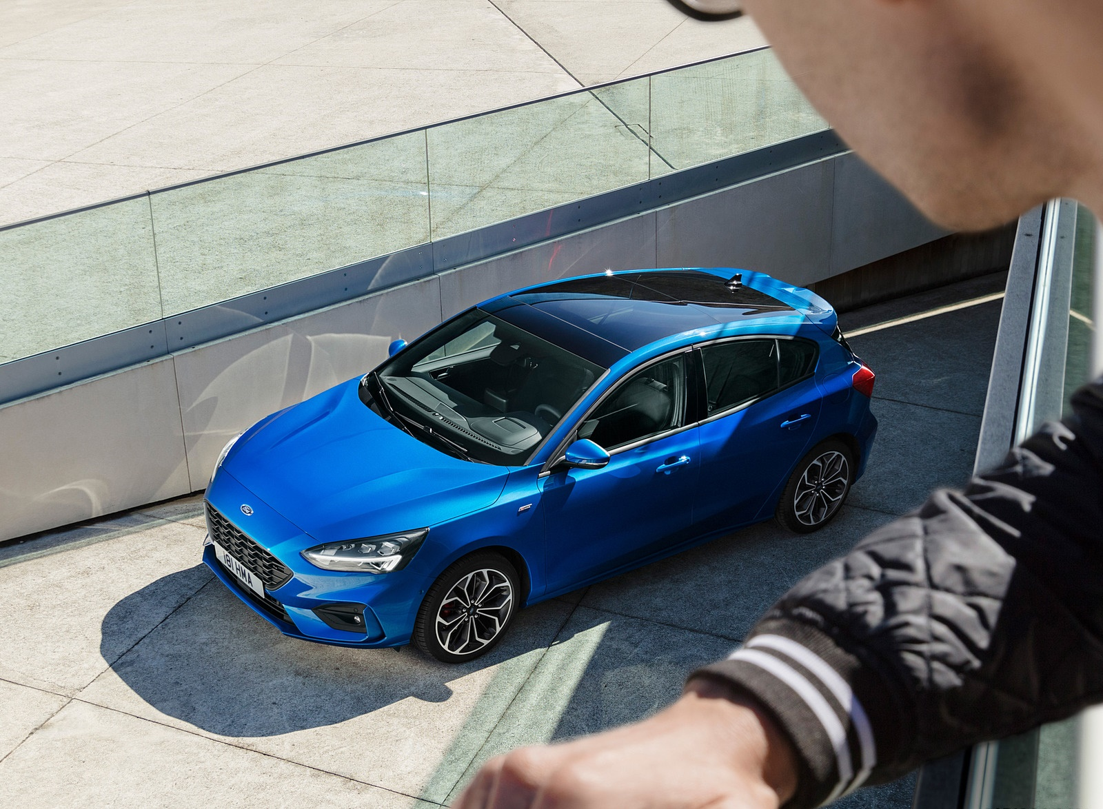 2019 Ford Focus Hatchback ST-Line Top Wallpapers (15)