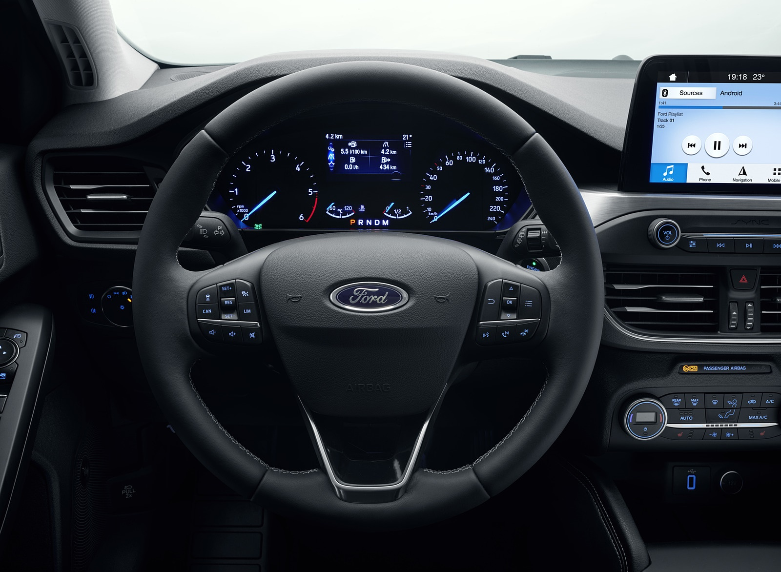 2019 Ford Focus Wagon Titanium Interior Steering Wheel Wallpapers 83 Newcarcars