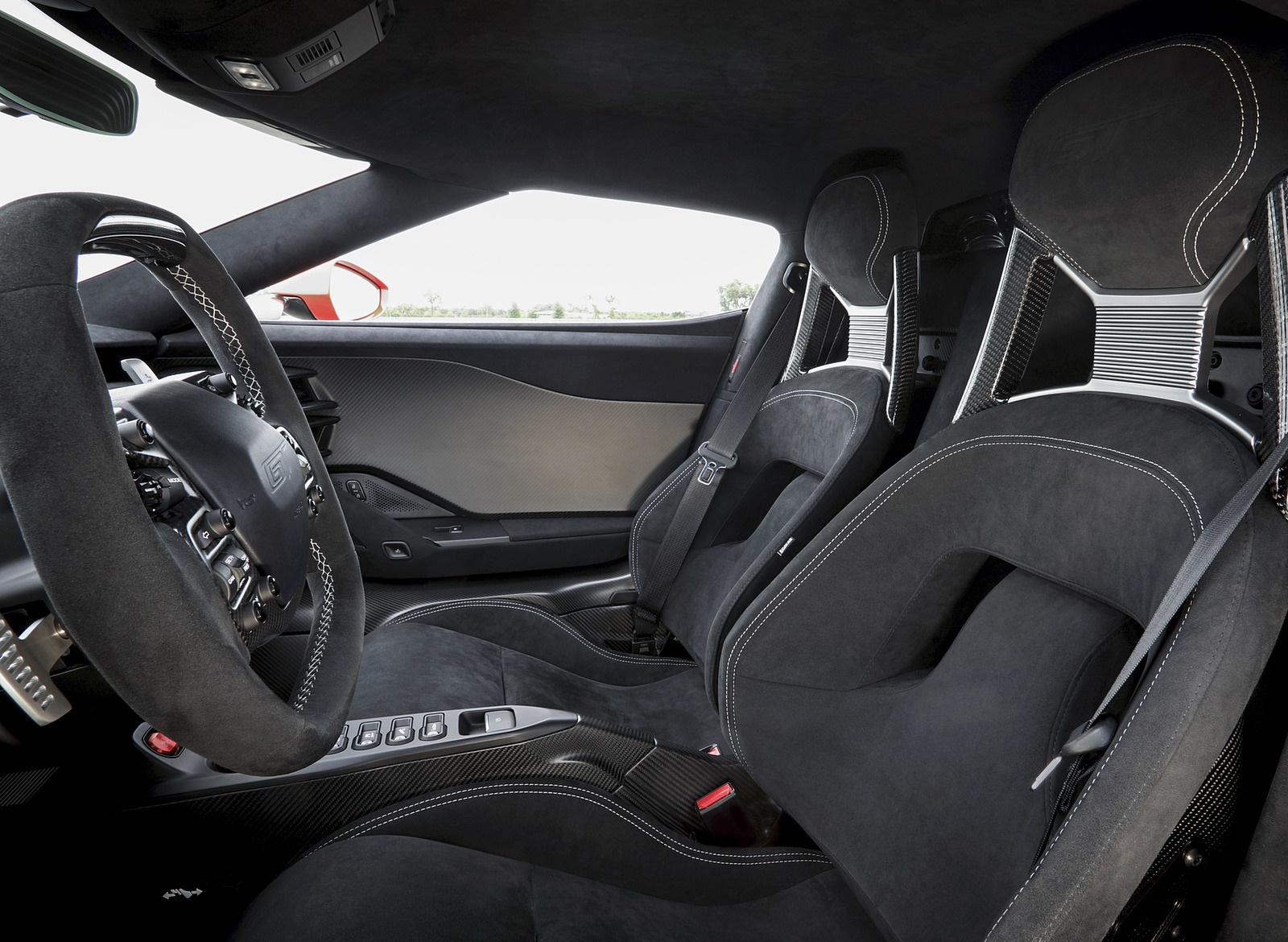 2019 Ford GT Carbon Series Interior Seats Wallpapers (11)
