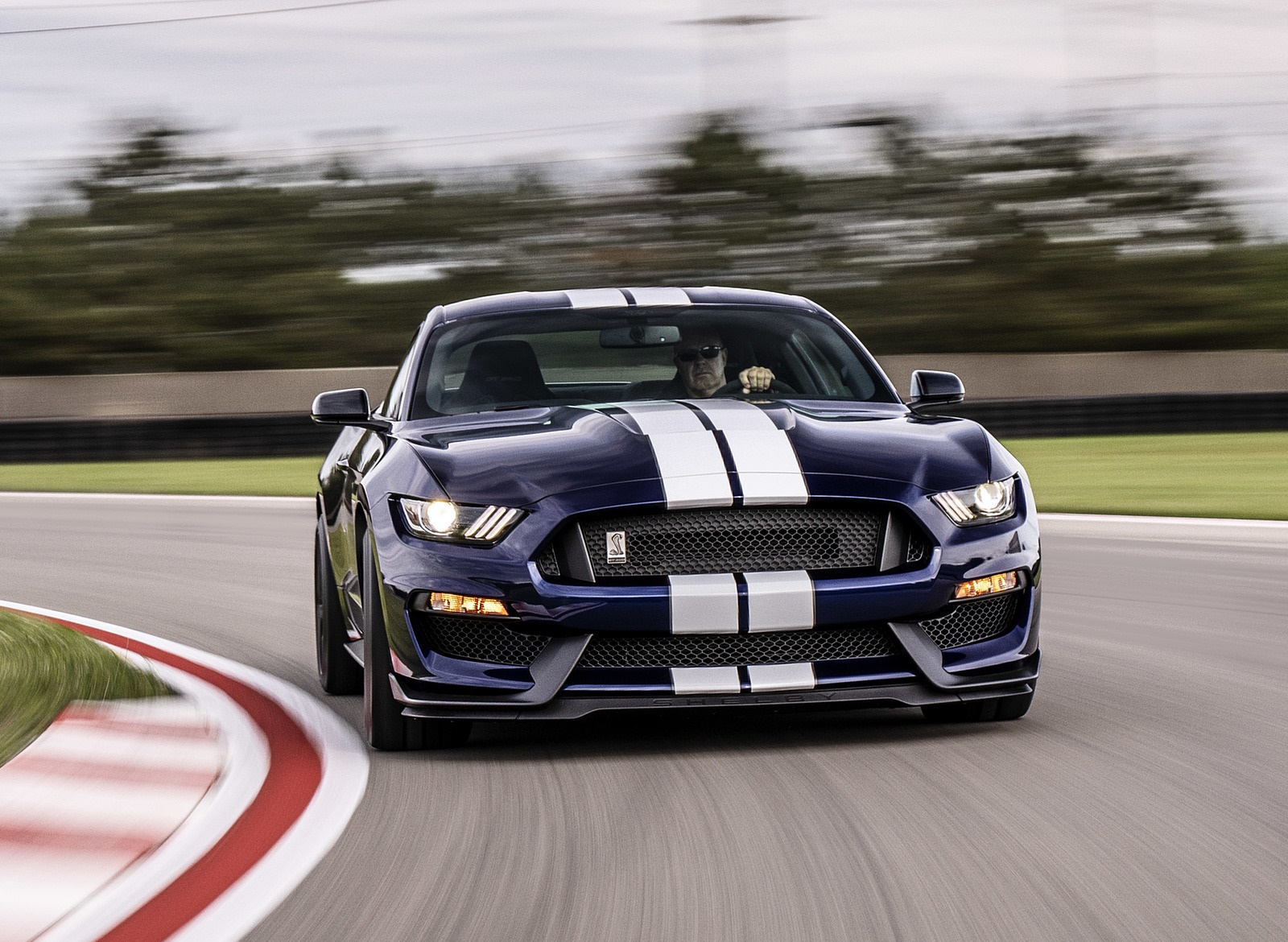 2019 Ford Mustang Shelby GT350 Front Wallpapers (2)