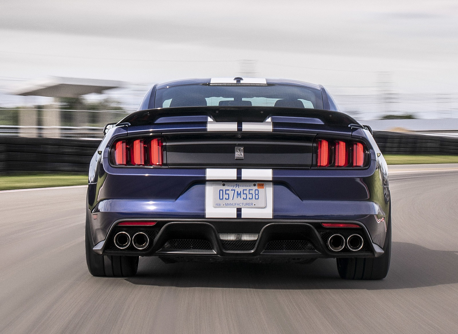 2019 Ford Mustang Shelby GT350 Rear Wallpapers (6)