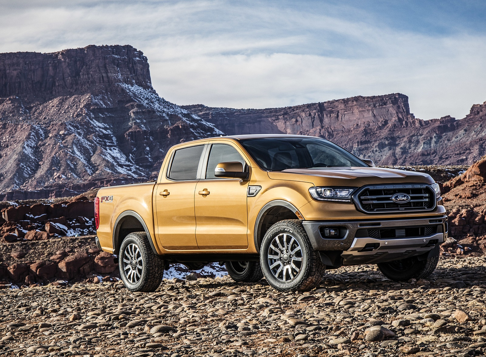 2019 Ford Ranger Front Three-Quarter Wallpapers (13)