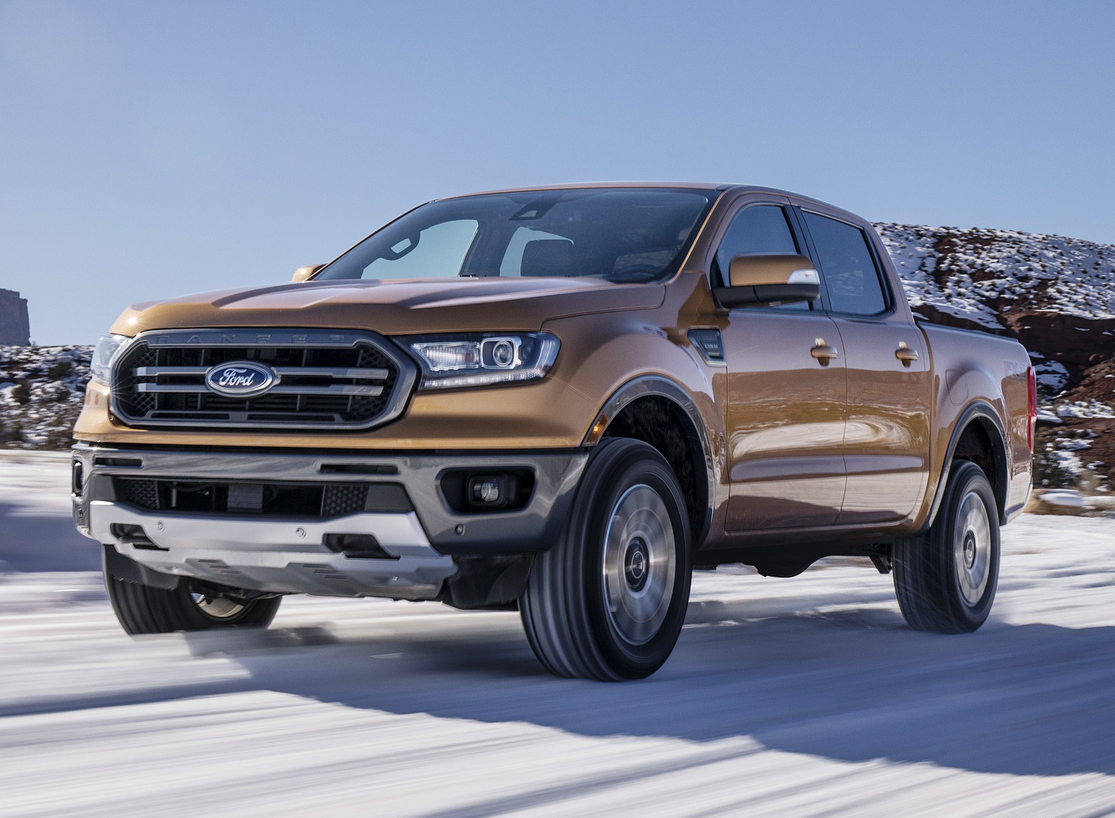 2019 Ford Ranger Front Three-Quarter Wallpapers (9)