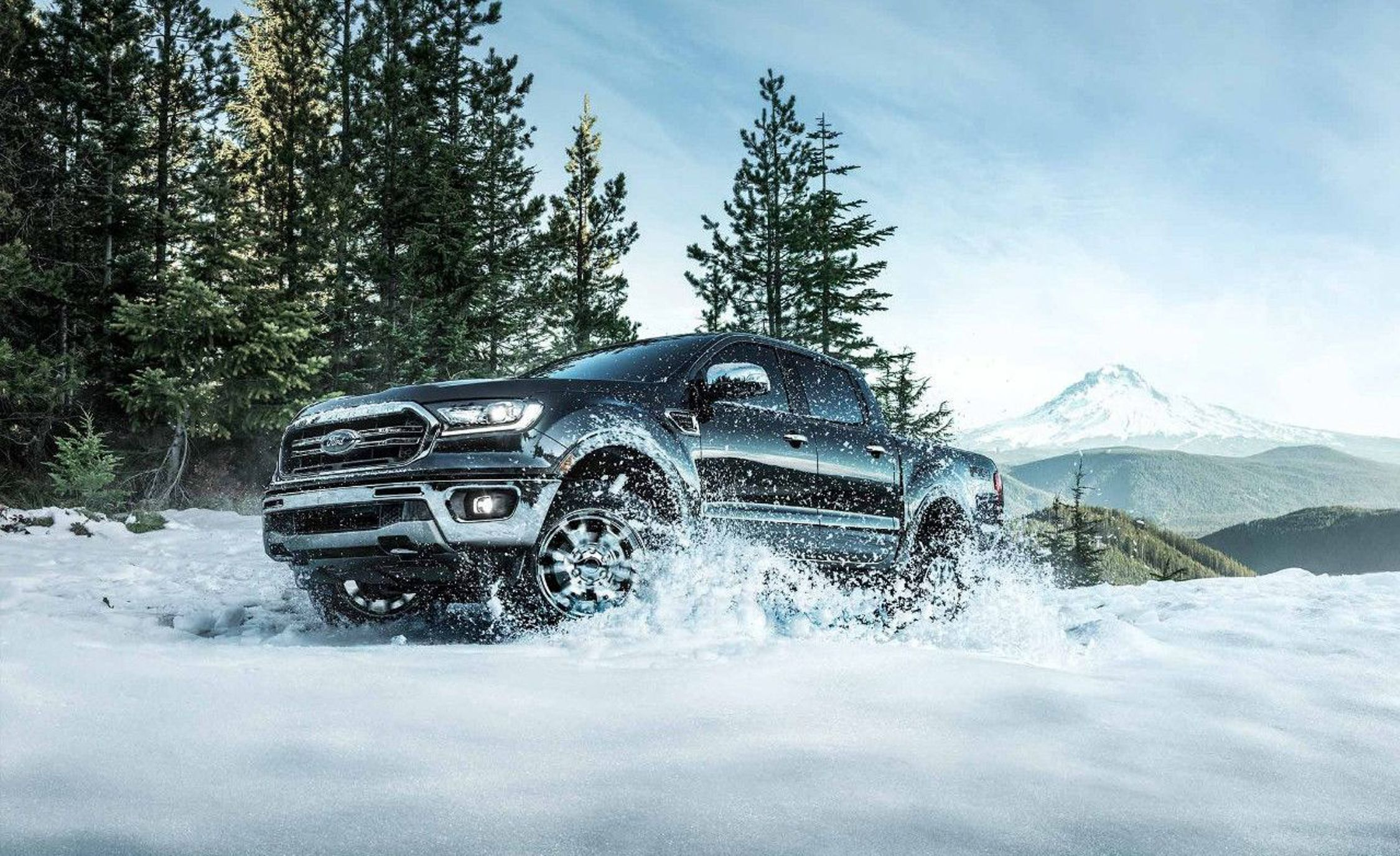 2019 Ford Ranger Front Three-Quarter Wallpapers (8)
