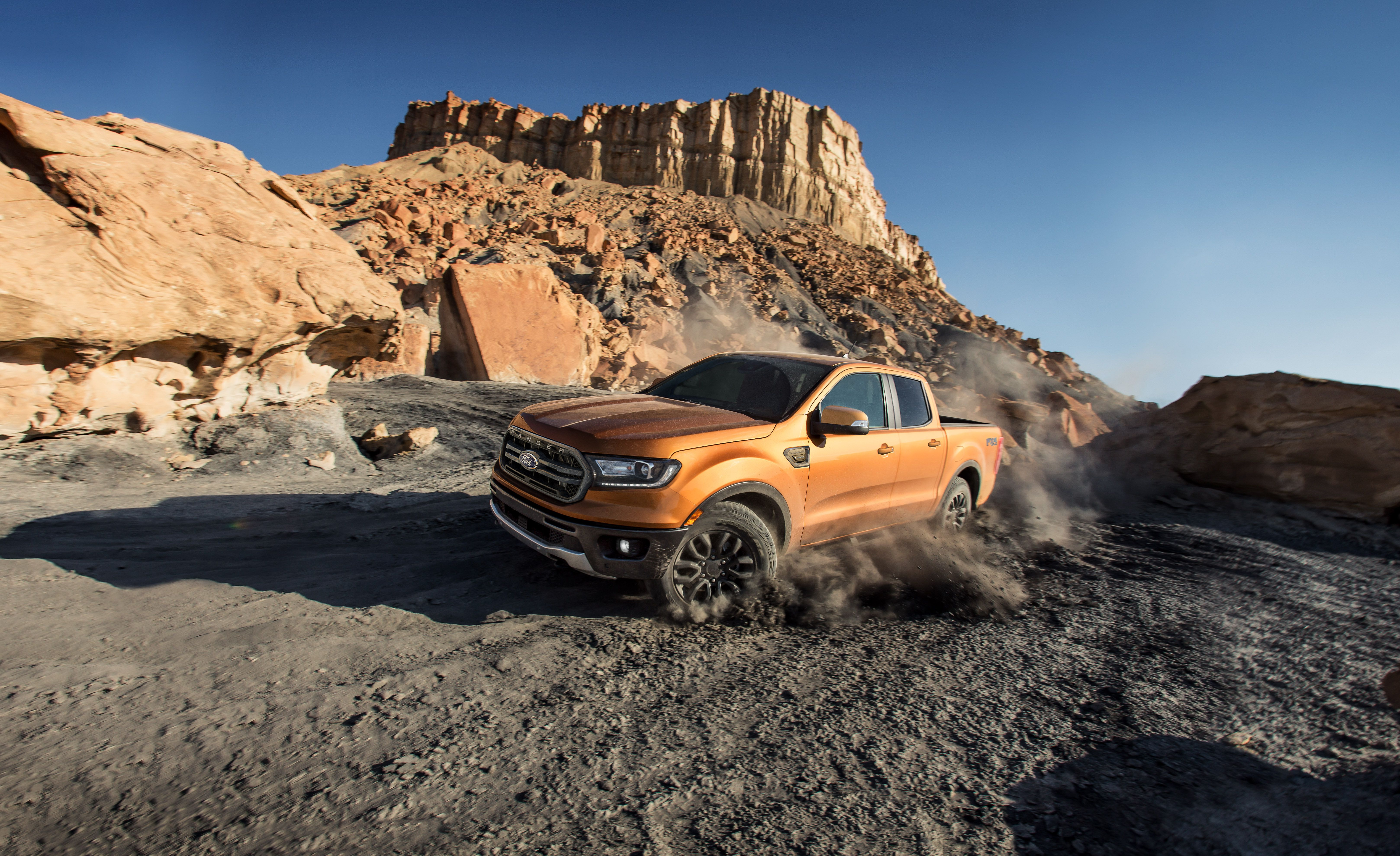 2019 Ford Ranger Front Three-Quarter Wallpapers (6)