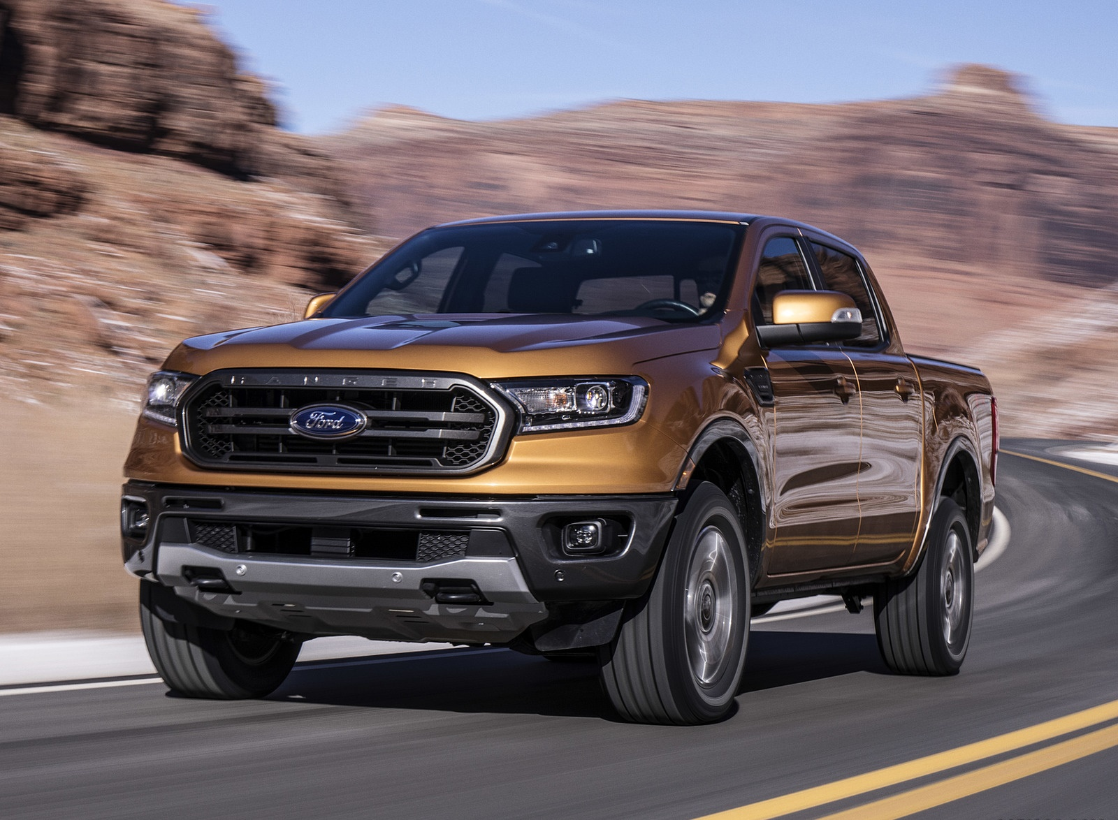 2019 Ford Ranger Front Wallpapers (14)