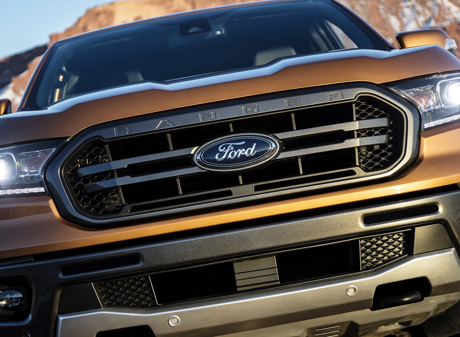 2019 Ford Ranger Grill Wallpapers (15)