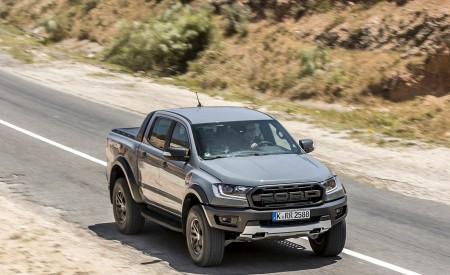 2019 Ford Ranger Raptor (Color: Conquer Grey) Front Three-Quarter Wallpapers 450x275 (6)