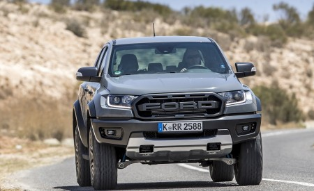 2019 Ford Ranger Raptor (Color: Conquer Grey) Front Wallpapers 450x275 (16)