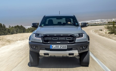 2019 Ford Ranger Raptor (Color: Conquer Grey) Front Wallpapers 450x275 (7)