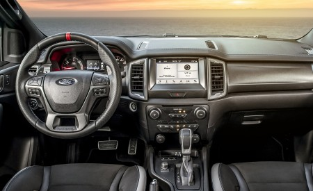 2019 Ford Ranger Raptor (Color: Conquer Grey) Interior Cockpit Wallpapers 450x275 (72)