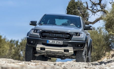 2019 Ford Ranger Raptor (Color: Conquer Grey) Off-Road Wallpapers 450x275 (29)