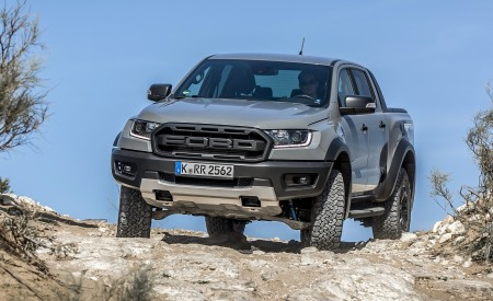 2019 Ford Ranger Raptor (Color: Conquer Grey) Off-Road Wallpapers 450x275 (27)