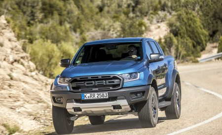 2019 Ford Ranger Raptor (Color: Performance Blue) Front Wallpapers 450x275 (94)