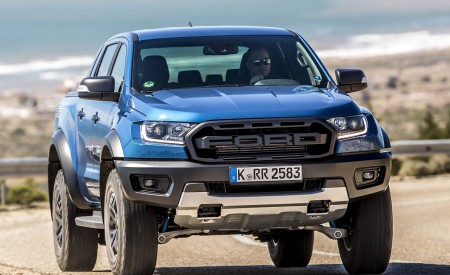 2019 Ford Ranger Raptor (Color: Performance Blue) Front Wallpapers 450x275 (95)