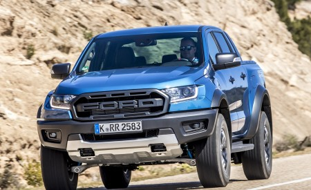 2019 Ford Ranger Raptor (Color: Performance Blue) Front Wallpapers 450x275 (100)