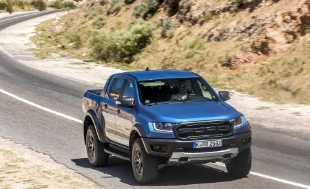 2019 Ford Ranger Raptor (Color: Performance Blue) Front Wallpapers 450x275 (97)