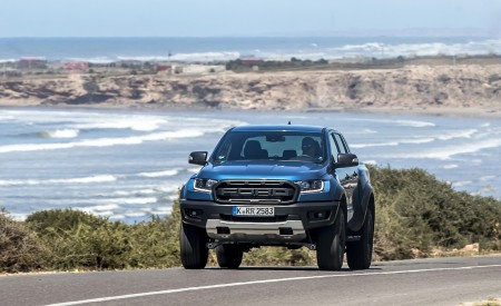 2019 Ford Ranger Raptor (Color: Performance Blue) Front Wallpapers 450x275 (98)