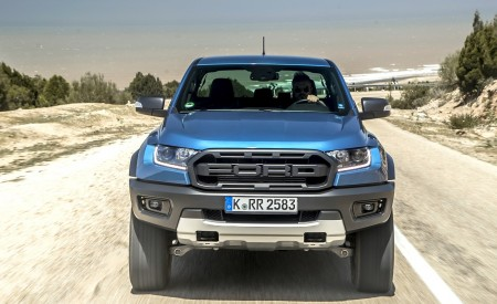 2019 Ford Ranger Raptor (Color: Performance Blue) Front Wallpapers 450x275 (99)