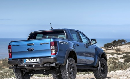2019 Ford Ranger Raptor (Color: Performance Blue) Off-Road Wallpapers 450x275 (118)