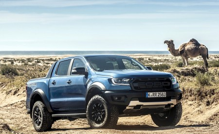 2019 Ford Ranger Raptor (Color: Performance Blue) Off-Road Wallpapers 450x275 (134)