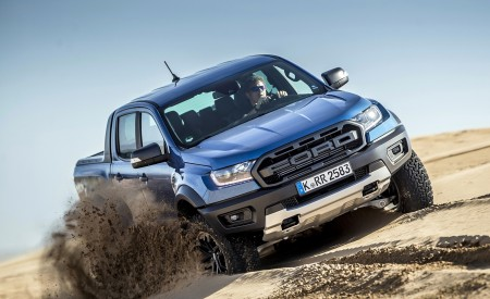 2019 Ford Ranger Raptor (Color: Performance Blue) Off-Road Wallpapers 450x275 (121)