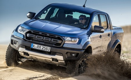 2019 Ford Ranger Raptor (Color: Performance Blue) Off-Road Wallpapers 450x275 (110)