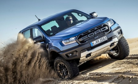 2019 Ford Ranger Raptor (Color: Performance Blue) Off-Road Wallpapers 450x275 (122)