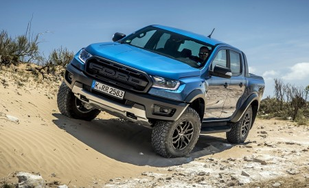 2019 Ford Ranger Raptor (Color: Performance Blue) Off-Road Wallpapers 450x275 (111)