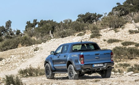 2019 Ford Ranger Raptor (Color: Performance Blue) Off-Road Wallpapers 450x275 (102)