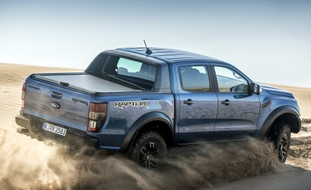 2019 Ford Ranger Raptor (Color: Performance Blue) Off-Road Wallpapers 450x275 (123)