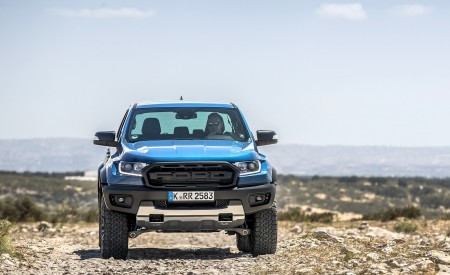 2019 Ford Ranger Raptor (Color: Performance Blue) Off-Road Wallpapers 450x275 (112)