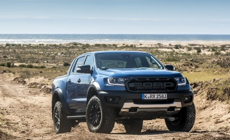 2019 Ford Ranger Raptor (Color: Performance Blue) Off-Road Wallpapers 450x275 (135)