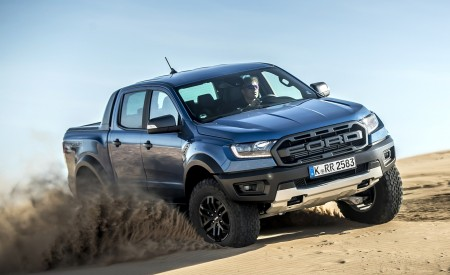 2019 Ford Ranger Raptor (Color: Performance Blue) Off-Road Wallpapers 450x275 (124)
